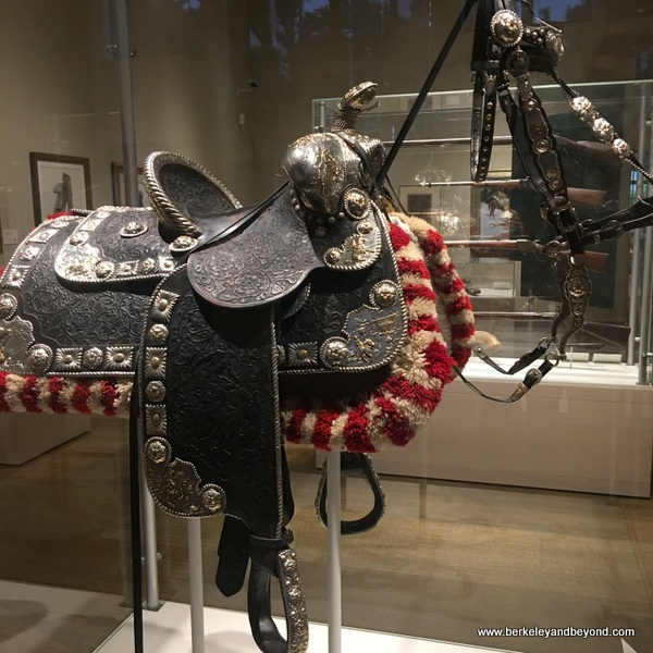Roy Rogers' saddle and bridle at The Briscoe Western Art Museum in San Antonio, Texas