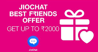 (LOOT) JioChat  Refer and Earn Rs 10 - Limited Time  JioChat Best Friends Offer