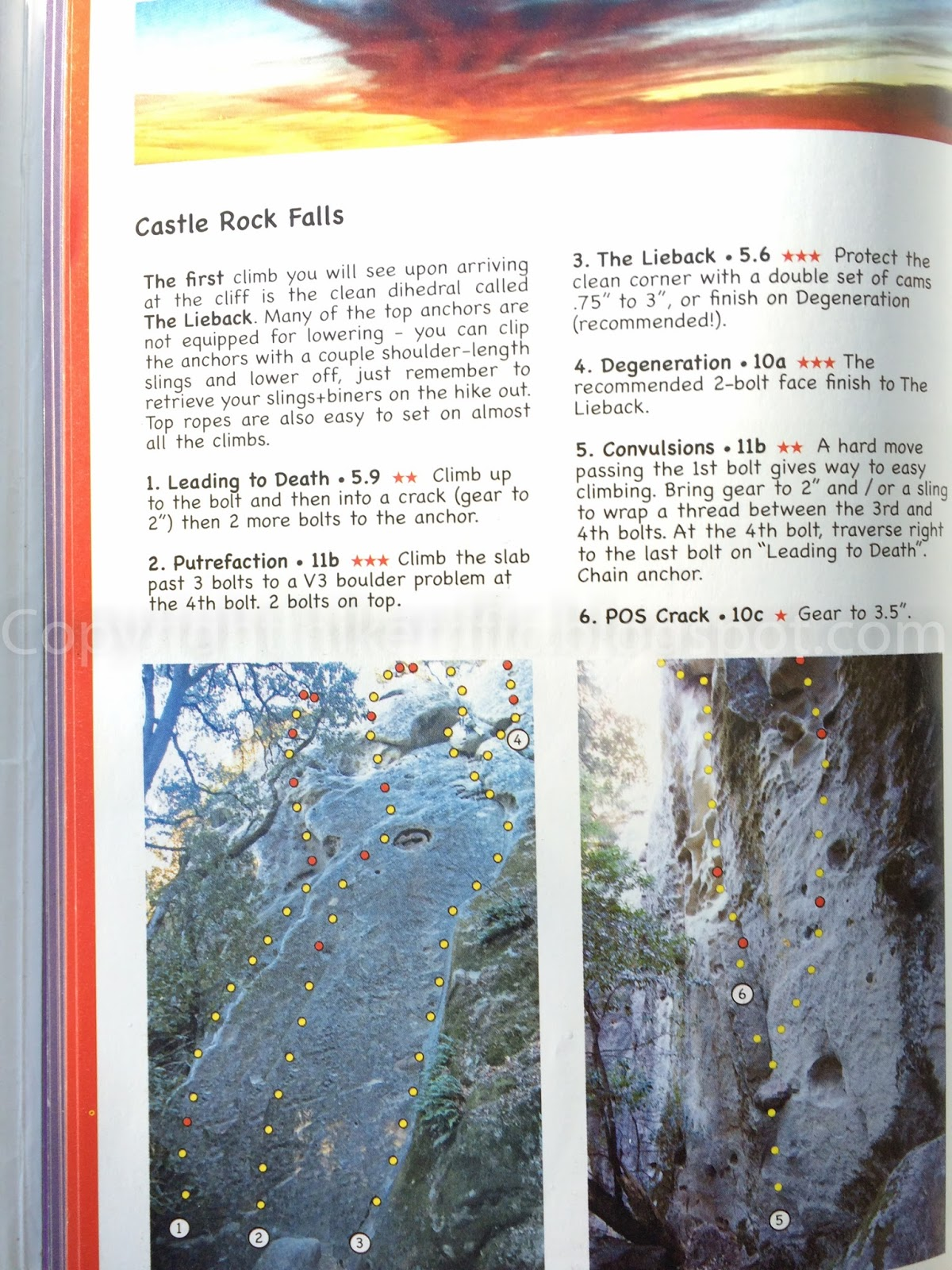 Return To Waterfall Cliff In Castle Rock State Park California