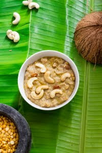 How to make Kadale Bele Payasa or Chana Dal Payasam at www.oneteaspoonoflife.com