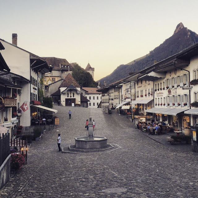 The Old Town of Gruyère, Switzerland