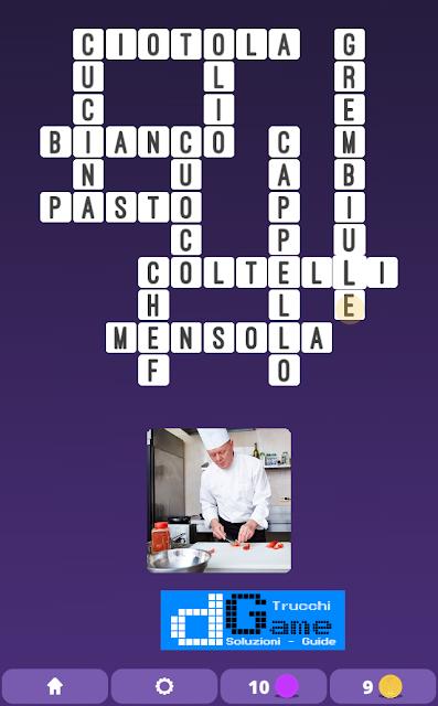 Soluzioni One Clue Crossword livello 4 schemi 5 (Cruciverba illustrato)  | Parole e foto