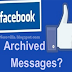 How To View Hidden Messages On Facebook