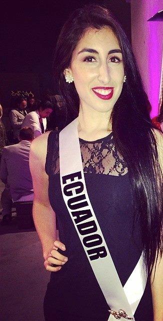 Miss Ecuador- Erika Garces