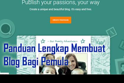 Panduan Lengkap Membuat Blog Gratis Bagi Pemula
