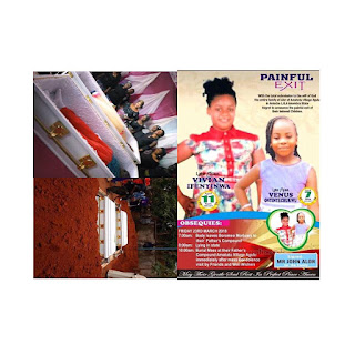 Sad!!!  Siblings killed by Robbers, While Going On Holiday To See Their Grandma, buried