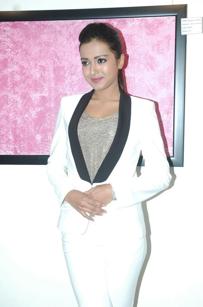 Catherine Tresa Latest Photos In White Dress