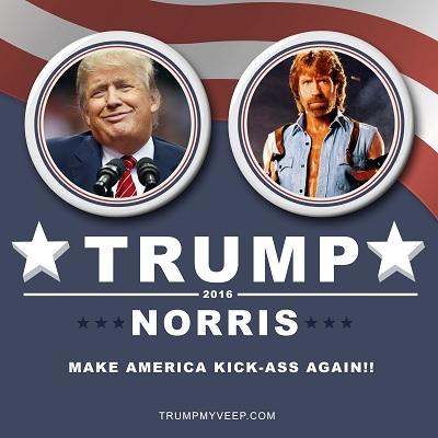 Chuck Norris FIRES Donald Trump.