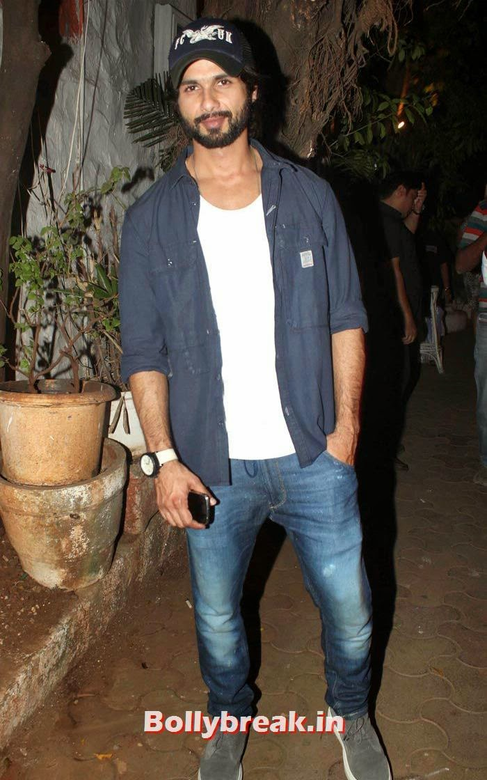 Shahid Kapoor, Vikas Bahl's Birthday Bash Photo Gallery