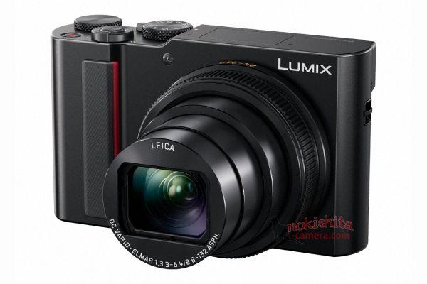 Panasonic Lumix TZ200, вид спереди