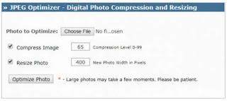 Compress foto