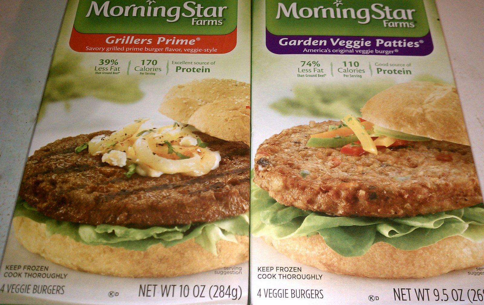 Zoe Jane Says Morningstar Veggie Burger Review