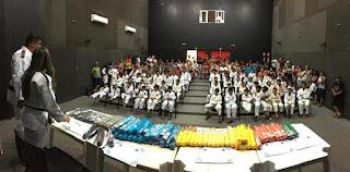 """Escolinha Municipal """"Mauro Sakai"""" de Registro-SP gradua mais de 80 alunos"""