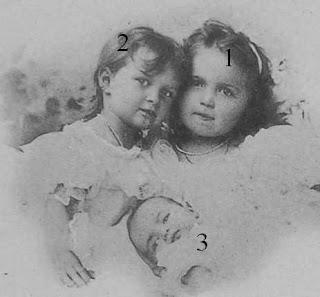 Trois des filles  de Nicolas II-Romanov