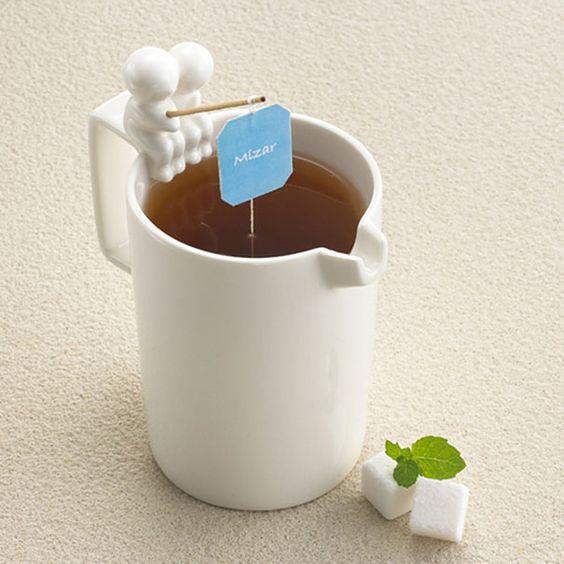 taza caña de pesca para té