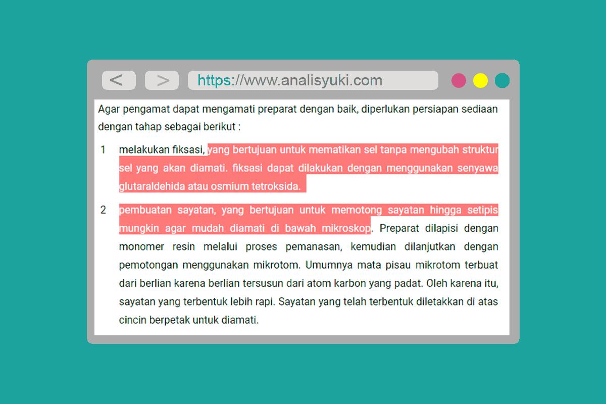 Cara Mengubah Warna Teks Ketika di Seleksi di Blog