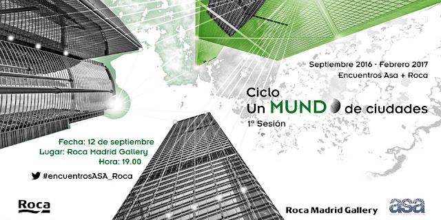 Encuentros ASA ROCA Un mundo de ciudades