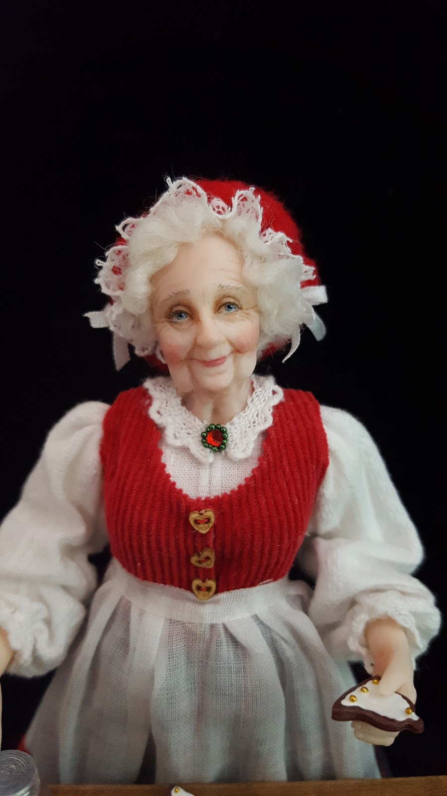 Julie Campbell Doll Artist Christmas Dolls