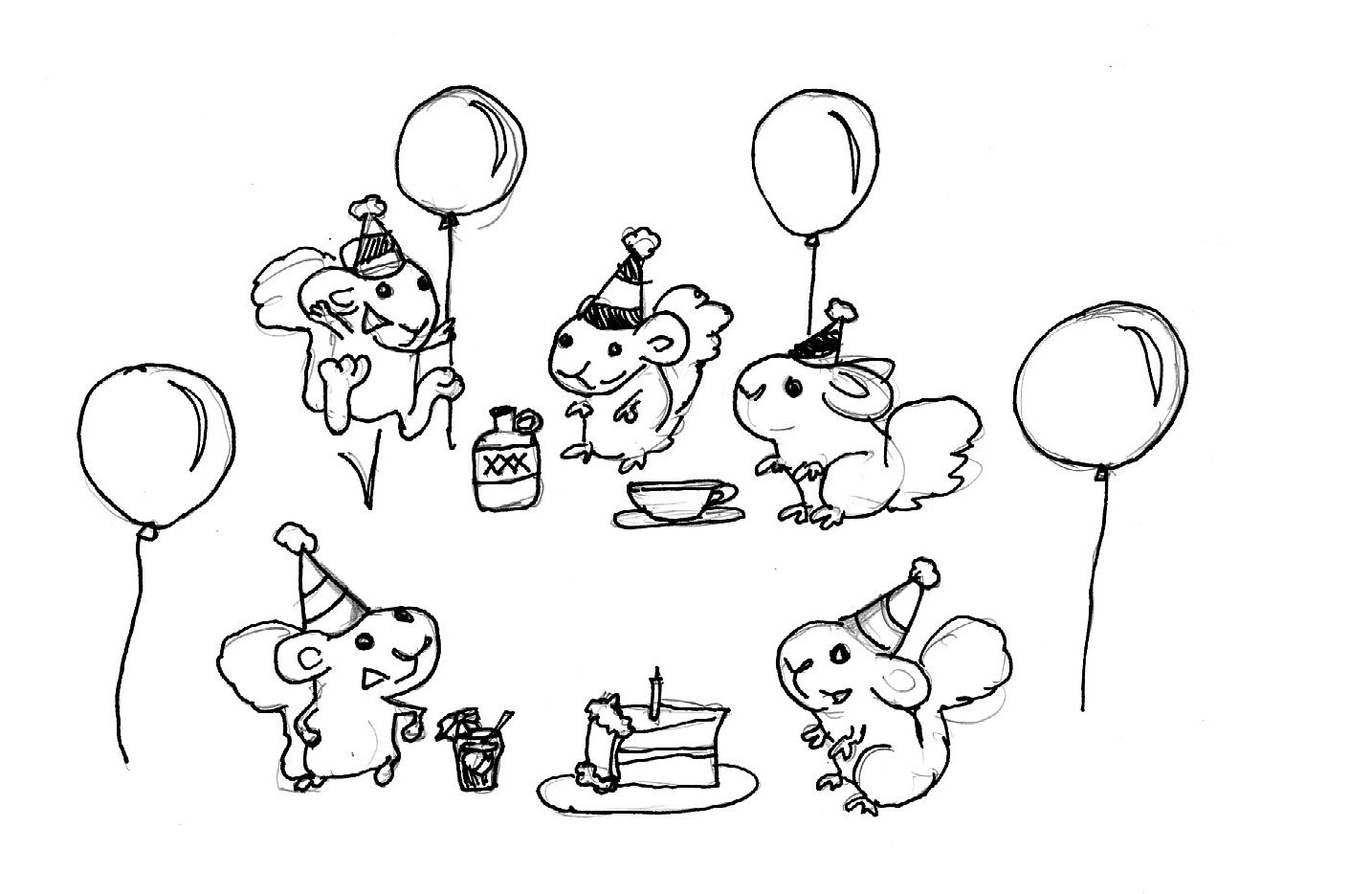 The Secret Life Of Guinea Pigs Party Times