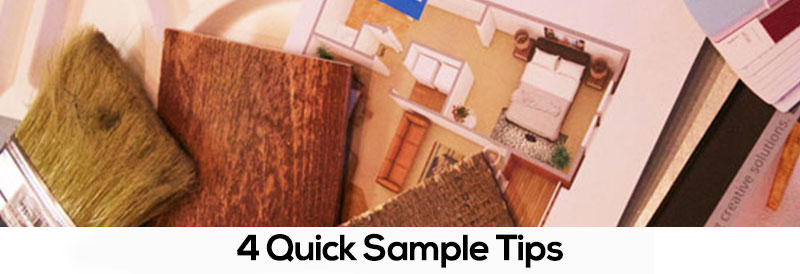 4 Quick Sample Tips