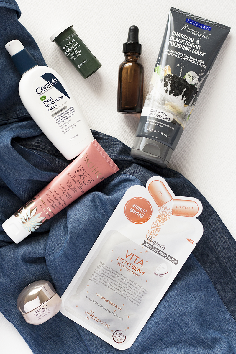 skincare heroes, products for dry skin