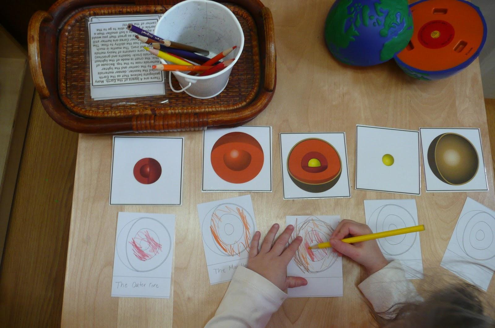 Montessori Teachings Layers Of The Earth