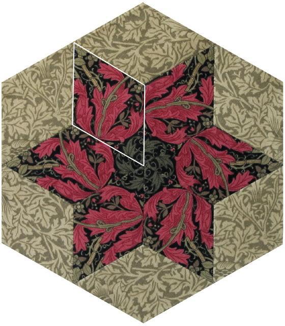 Barbara Brackman S Material Culture Morris Hexathon 8