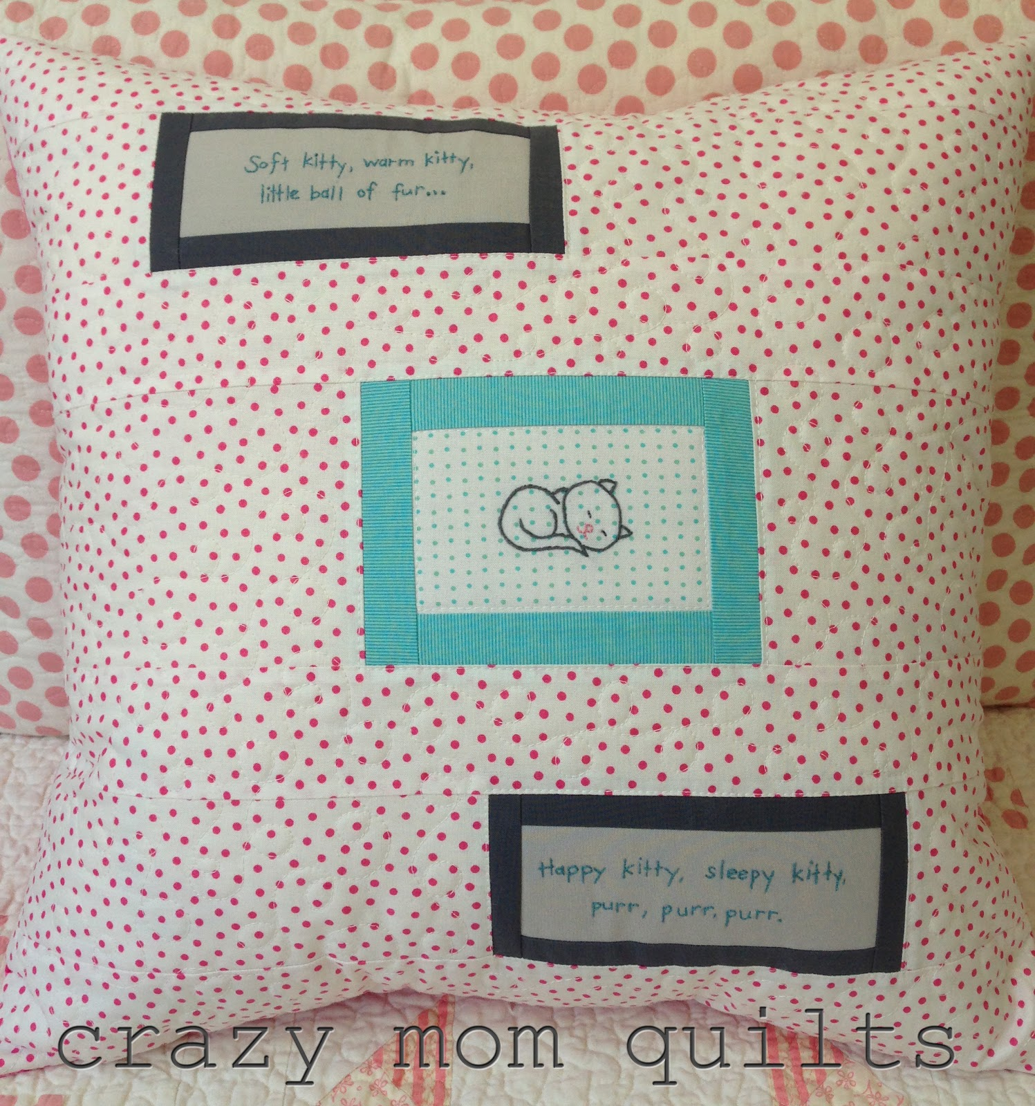 Crazy Mom Quilts Soft Kitty