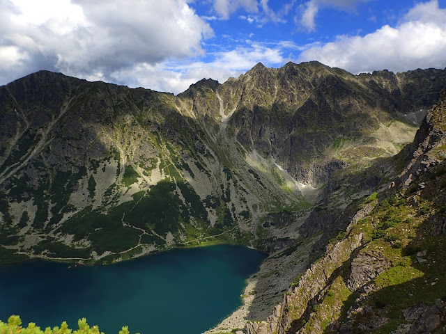 Tatrzańskie krajobrazy (Żółta Turnia, Granaty...)