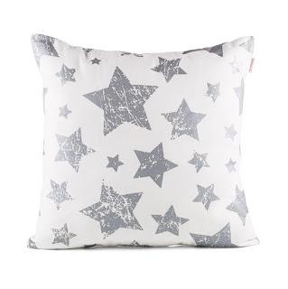 Funda de cojín con estampado de estrellas