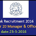 MSC Bank Recruitment 2016 Apply for 20 Manager & Officer Posts