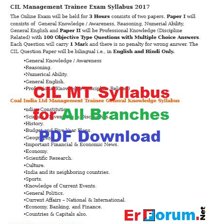 cil-mt-syllabus-all-branches