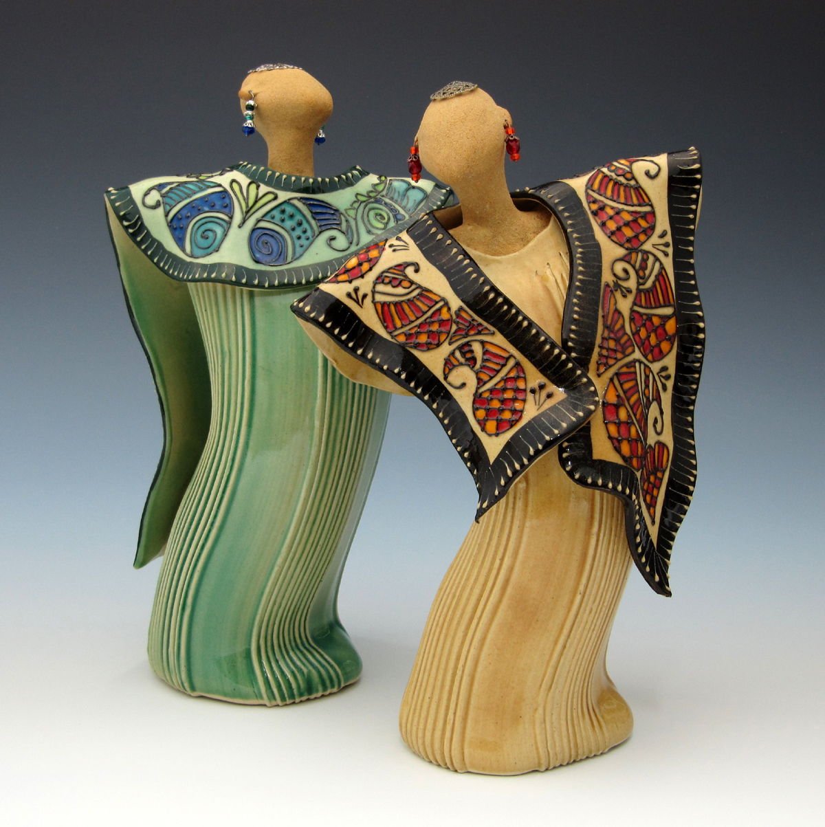 Creative with clay: Pottery by Charan Sachar: NCECA 2012 ...
