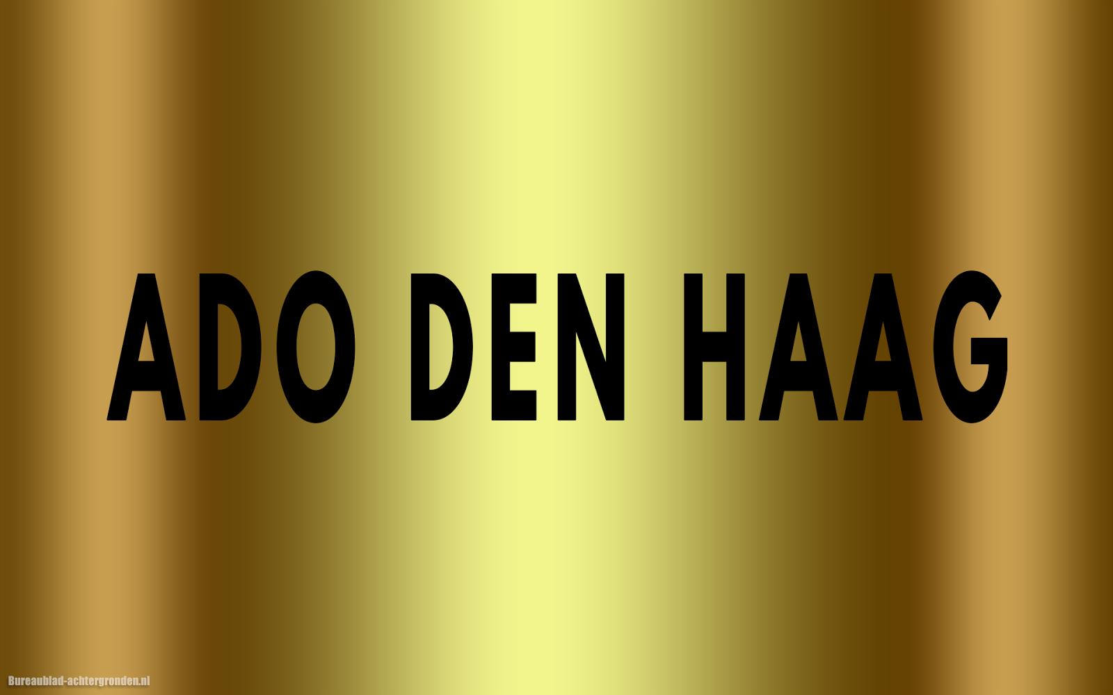 Gouden Ado Den Haag Wallpaper Met Zwarte Tekst Ado Den Haag Mooie Achtergronden