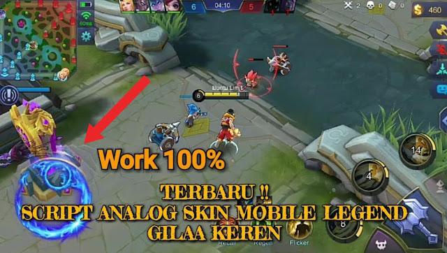 Kumpulan Script Tema Analog Mobile Legends Lengkap