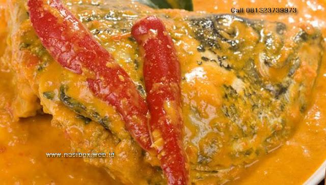 Resep gulai kepala ikan gurame-nasi box cimanggu ciwidey