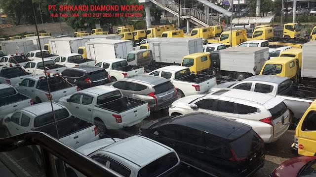 menjual mitsubishi - pajero - xpander - triton - fuso - colt diesel - 2018