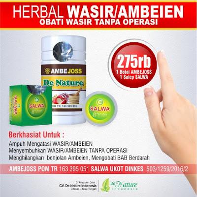 cara mengobati wasir dengan obat herbal alami ambejoss