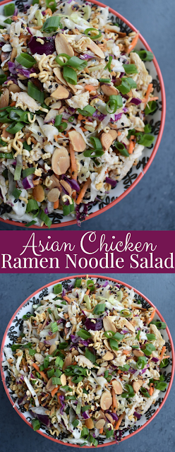 Asian Chicken Ramen Noodle Salad Recipe