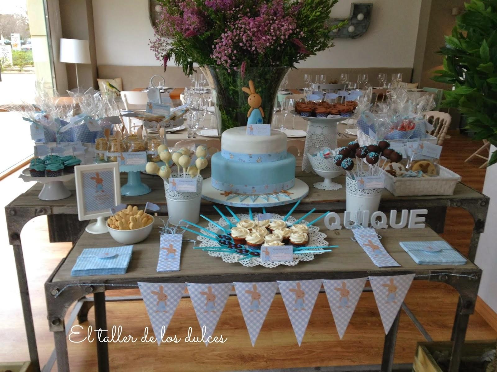 El taller de los dulces mesas dulces y celebraciones for Mesas para bautizo