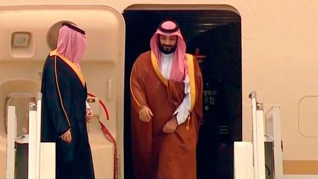 El príncipe heredero saudí Mohamed bin Salmán llega a Argentina para participar en el G20