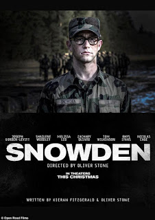 Snowden 2016 movie Poster