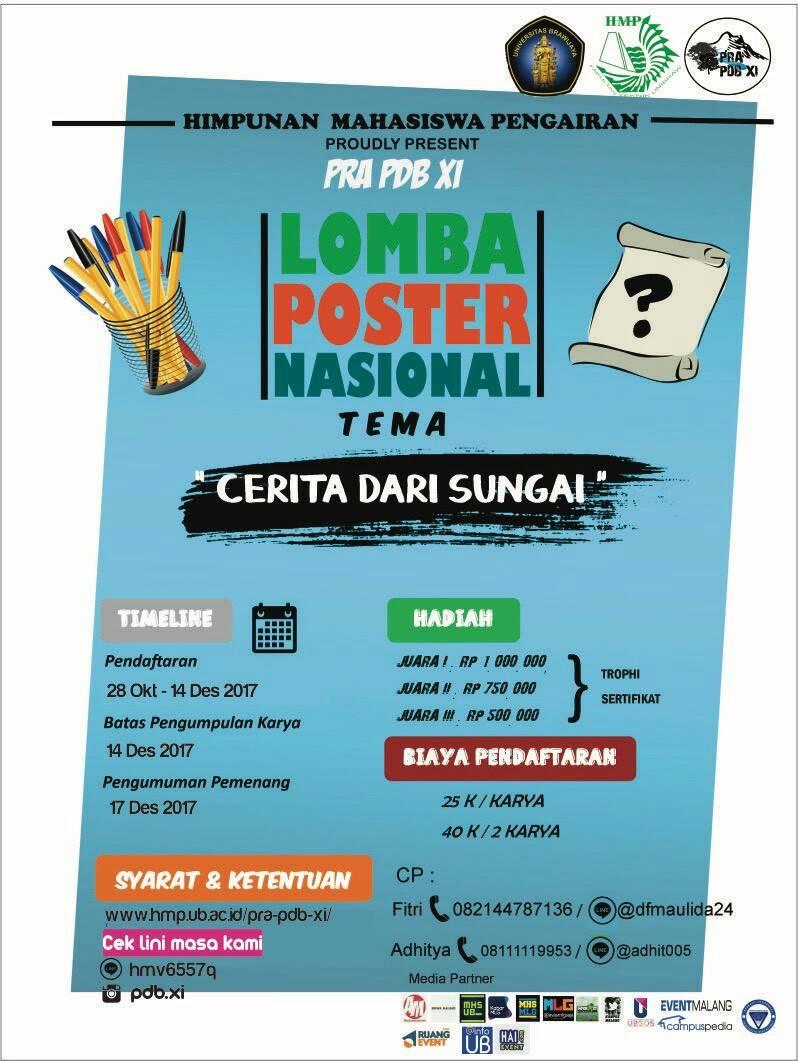 Lomba Poster Nasional 2017 UB