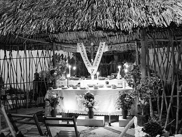 altar hanal pixán