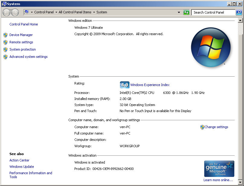 windows 7 full version free