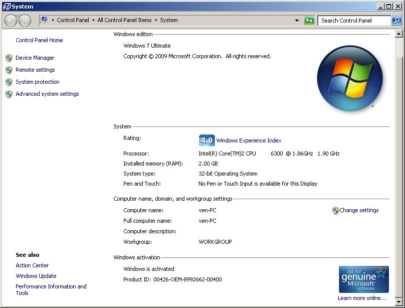 windows 7 full version free