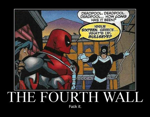 Deadpool, cela fait combien de temps ? Depuis le tome 16. Le quatrième mur prend cher avec Deadpool.