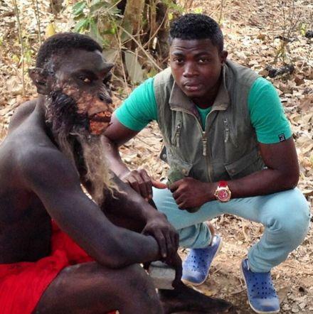 Meet The Nigerian WILDEST Movie Make-up Artist, Hakeem Onilogbo (See His Wonderful Works)