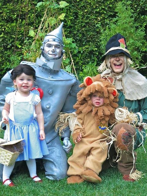 Los mejores disfraces de Halloween para padres e hijos