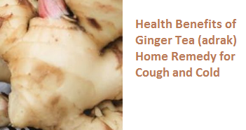 Health Benefits of Ginger Tea (adrak) Home Remedy for Cough and Cold